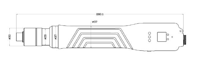 SKDBC6000P电批尺寸图